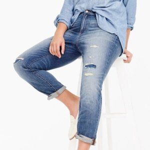 J. Crew Slim Broken-In Boyfriend Jeans